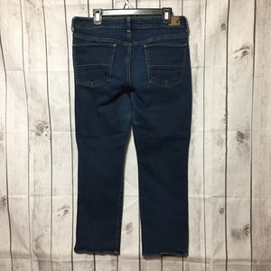 American Eagle Straight Blue Jeans 16 Short